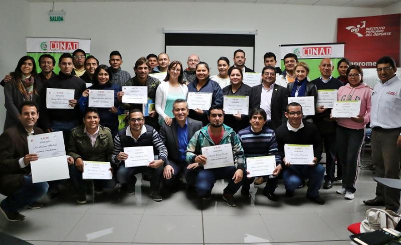 Perú ya cuenta con Oficiales Antidopaje acreditados