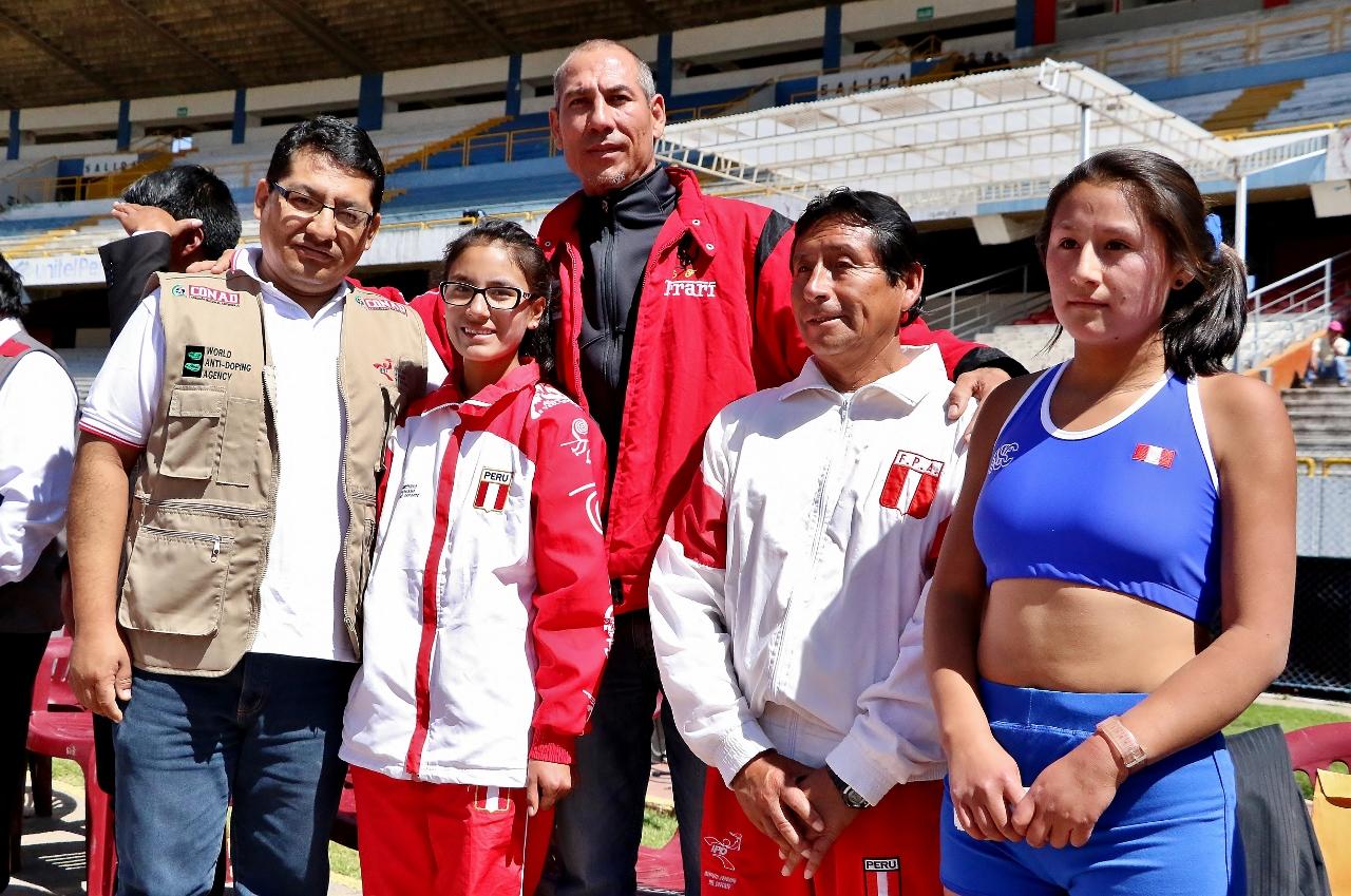 CONAD realizó controles a maratonistas y marchistas olímpicos