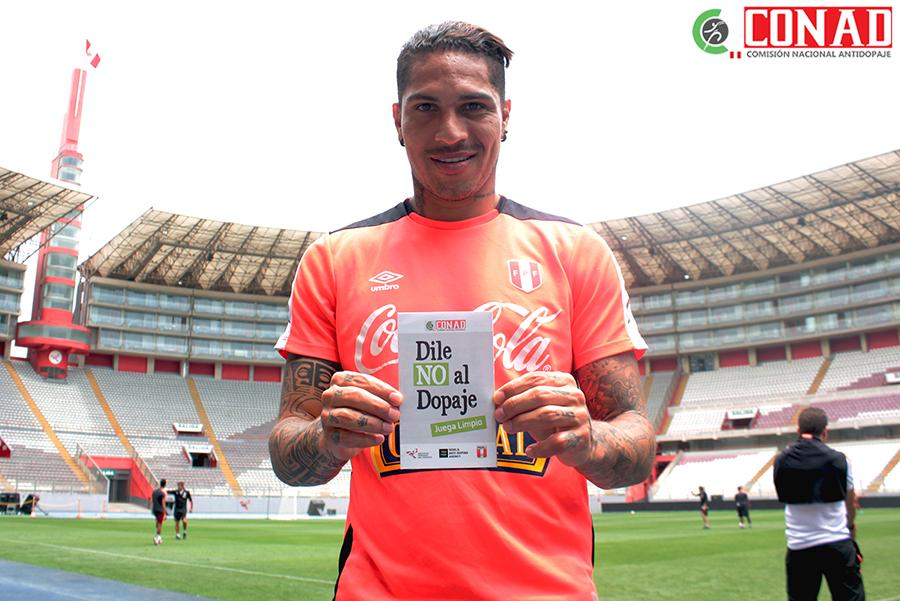 La selección peruana de fútbol también le dice NO al dopaje