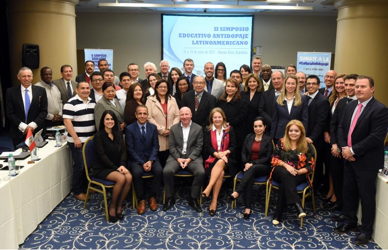 Se realizó en Argentina el II Simposio Latinoamericano de Educación Antidopaje