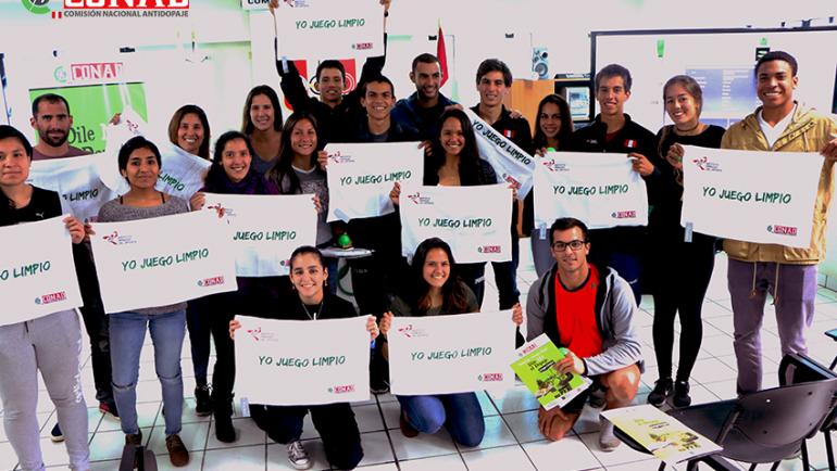 Logros de la educación antidopaje en el Perú