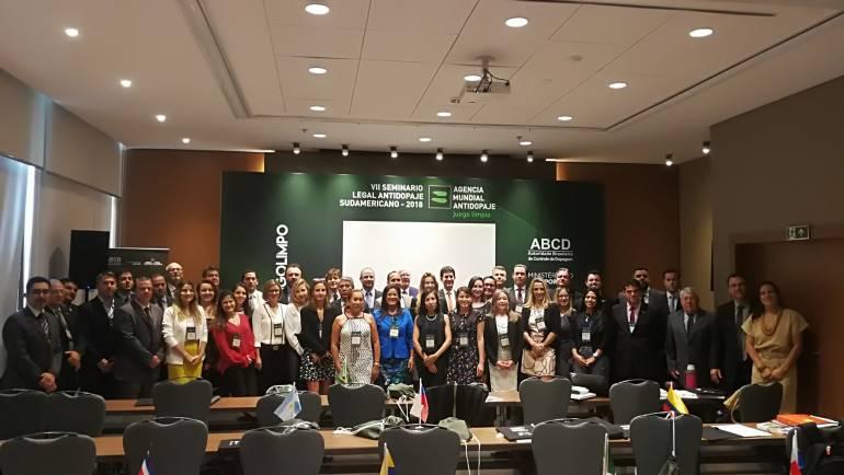 Río de Janeiro acoge el VII Seminario Legal Antidopaje Sudamericano
