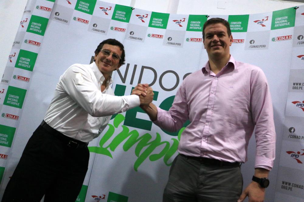 Carlos Zegarra, nuevo presidente de la CONAD
