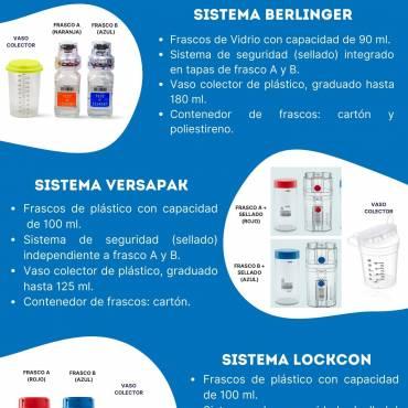 SISTEMAS DE EQUIPOS DE RECOLECCIÓN DE MUESTRA