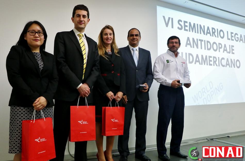 En Lima se inauguró el VI Seminario Legal Antidopaje Sudamericano